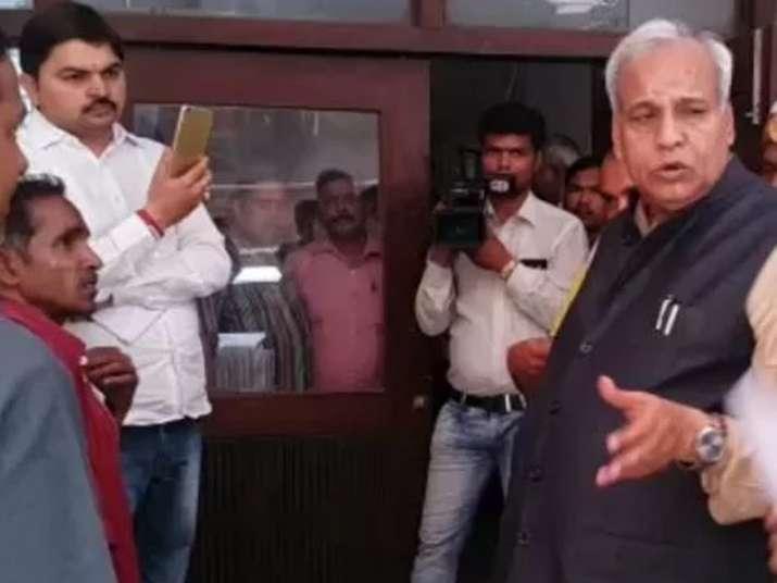 UP's Textile minister Satyadev Pachauri