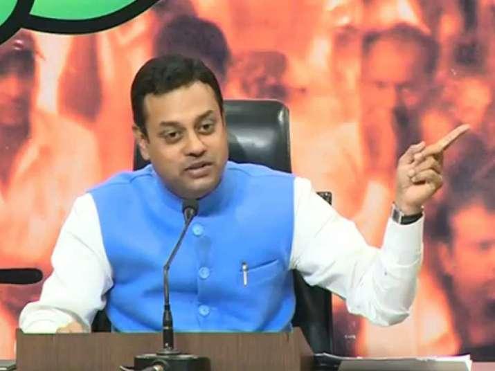 File pic of BJP spokesperson Sambit Patra