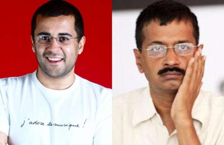 Chetan Bhagat mocks Kejriwal over MCD loss, gets trolled on
