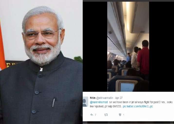 """PM Modi, Please Help"": Jet Airways passenger's 'hijack'"