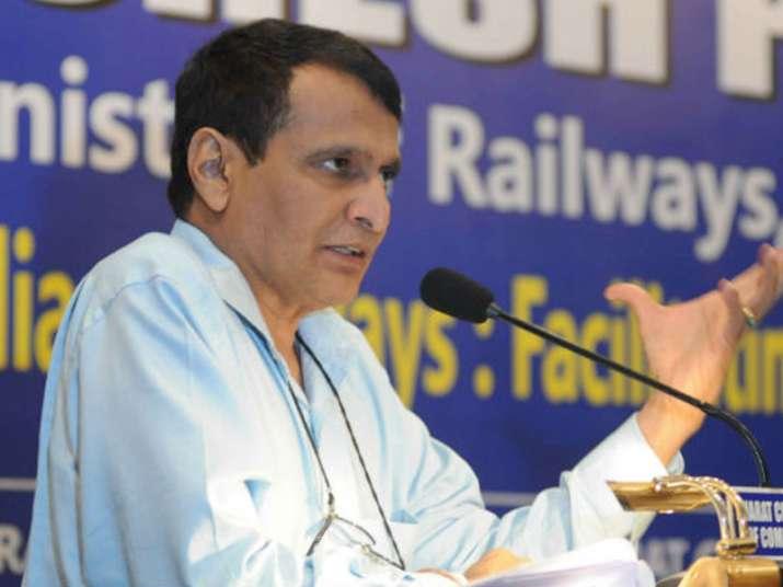 File pic of Suresh Prabhu