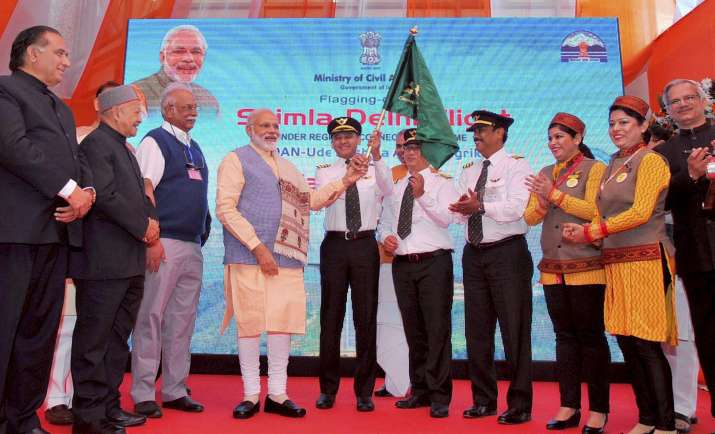 UDAN scheme was launched by PM Modi today
