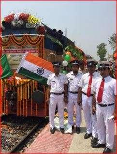 India Tv - PM Modi, Sheikh Hasina inaugurating rail, road service