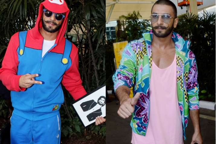 India Tv - Ranveer Singh's fashion sense