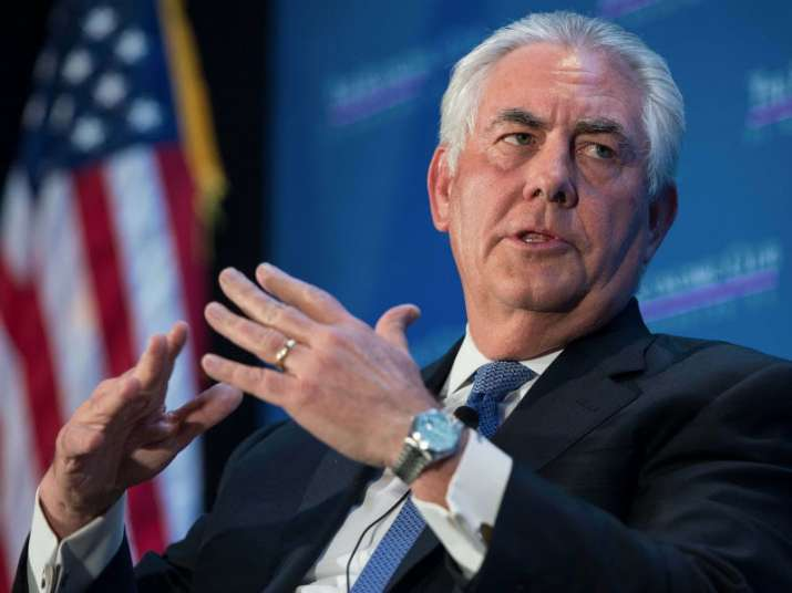 File pic of Secretary of State Rex Tillerson