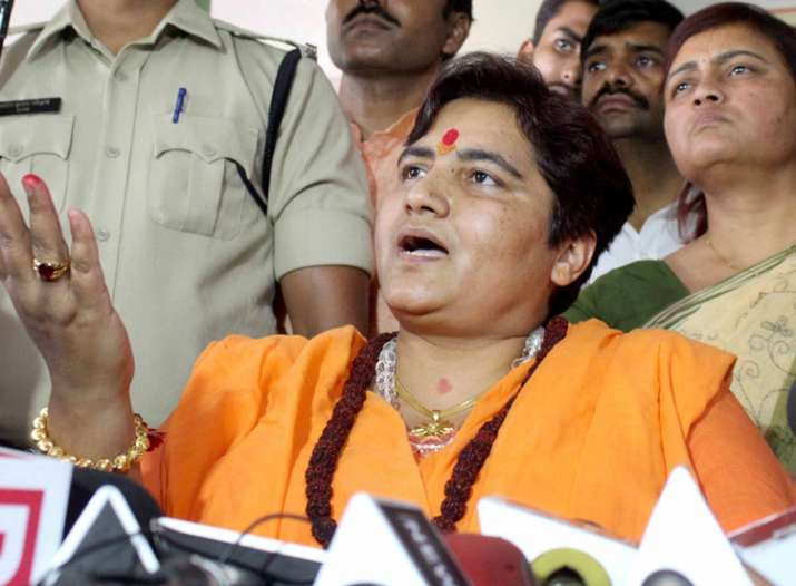 I am a victim of Congress conspiracy, says Sadhvi Pragya