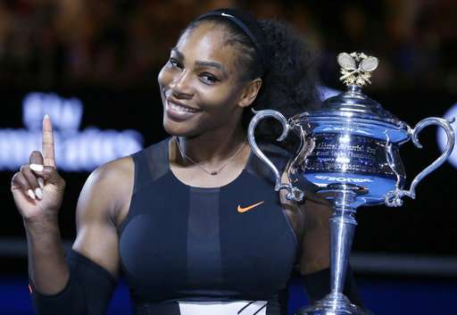 Serena Williams won the Australian Open while two months