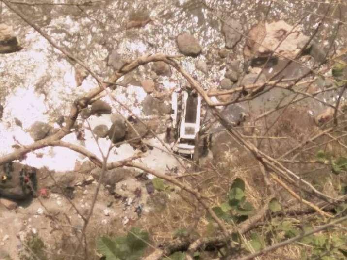 Private bus falls into river in Shimla, 45 dead