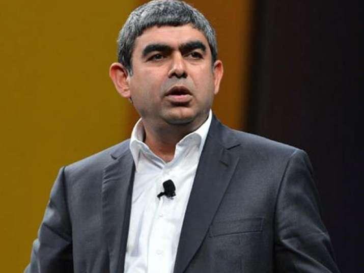 File pic of Infosys CEO Vishal Sikka