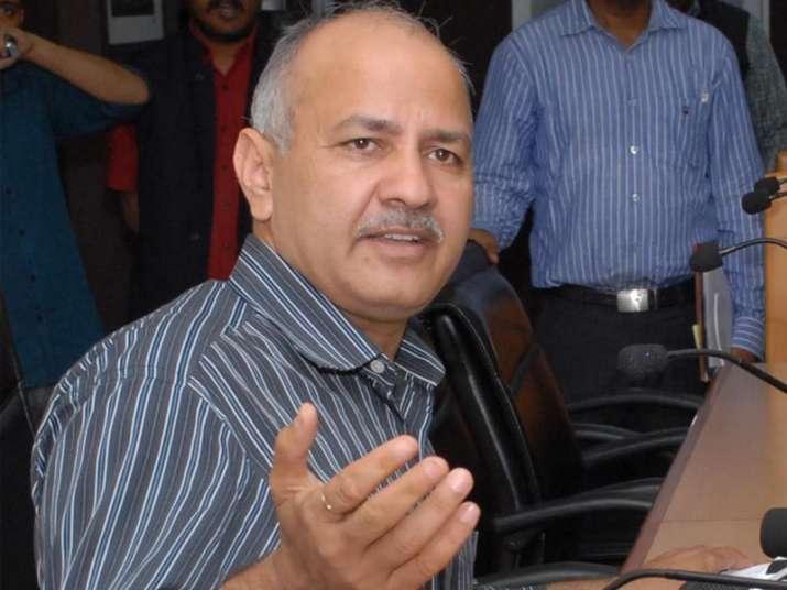 File pic of Delhi Deputy CM Mnaish Sisodia