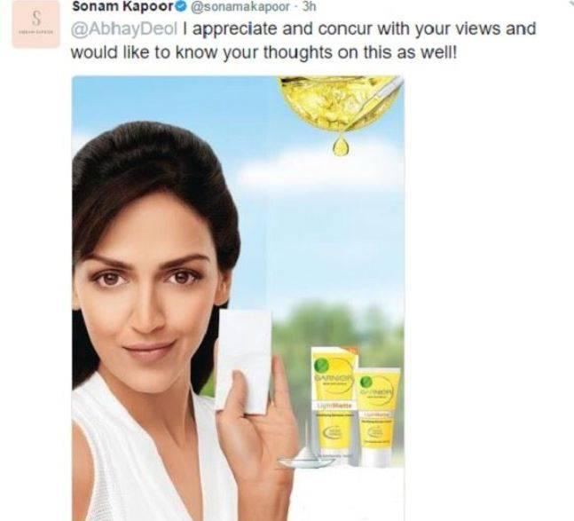 India Tv - Abhay Deol Vs Sonam Kapoor