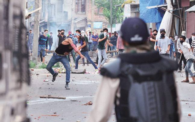 PDP flays BJP Minister's remarks on stone-pelters
