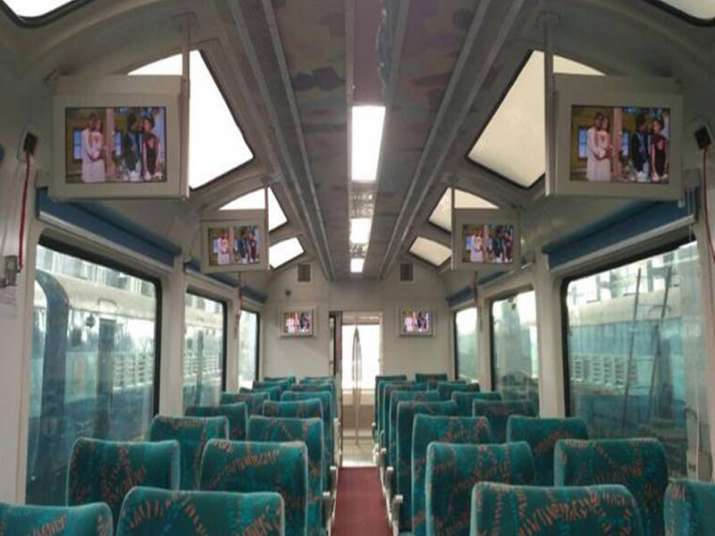 Suresh Prabhu launches new rail coach with glass roof, GPS