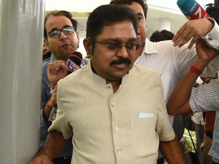 File pic of TTV Dinakaran