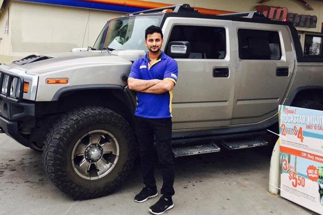 26-year-old Vikram Jaryal from Hoshiarpur was shot dead in