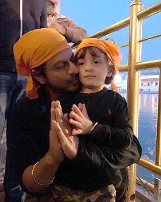 India Tv - Srk with Abram