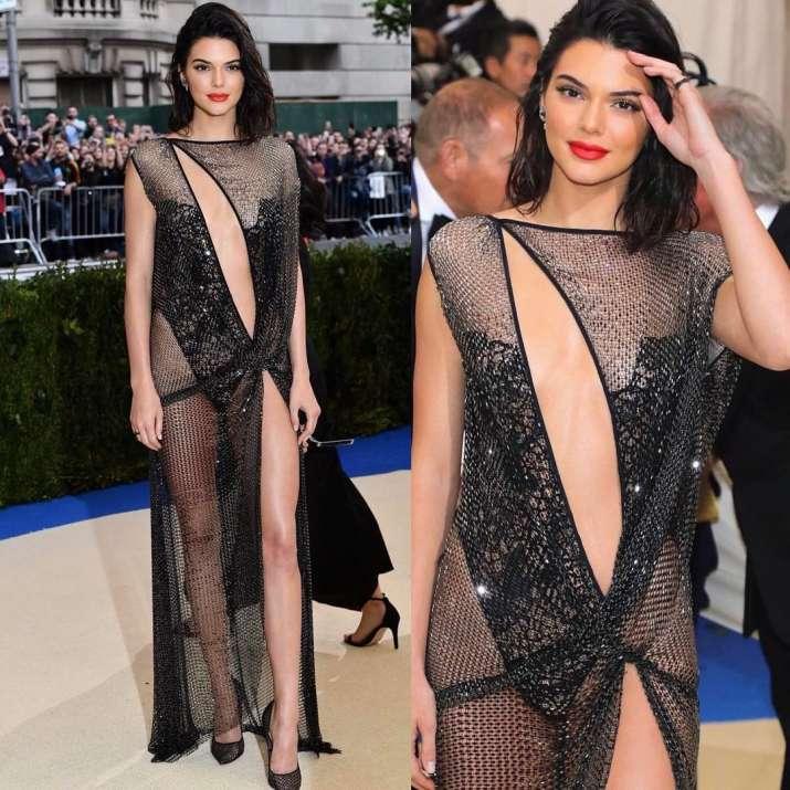 India Tv - Kendall Jenner at Met Gala 2017