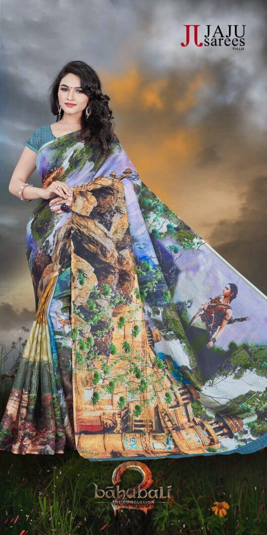 India Tv - Baahubali-inspired sarees