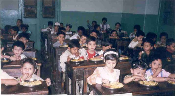 India Tv - food for education programmed by RNCT