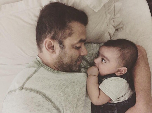 This video of Salman Khan 'fighting' with nephew Ahil