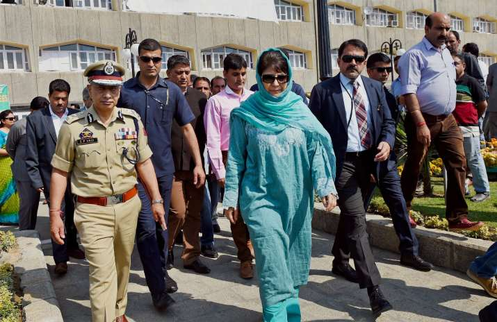 Mehbooba Mufti heckled by women at function