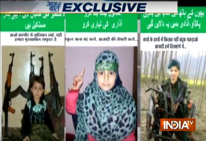 Militants using kids in Kashmir to ask youth to shun books