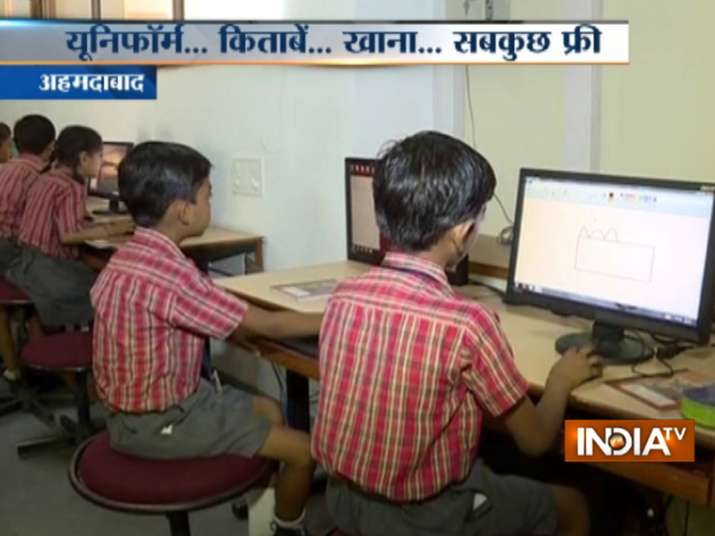This Ahmedabad school offers free education to poor