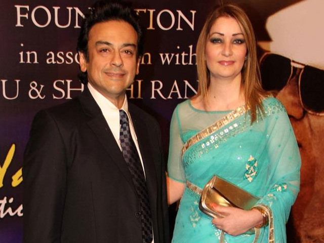 Adnan Sami and wife Roya become proud parents to a baby
