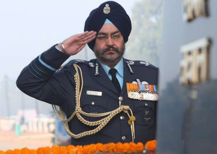 File pic of Air Chief BS Dhanoa
