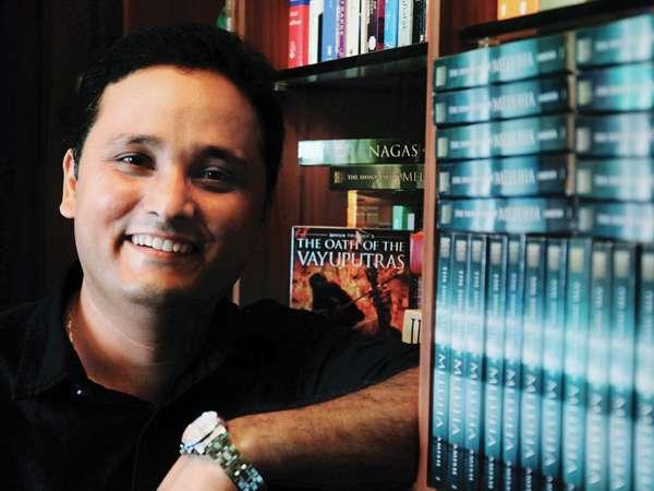 Amish Tripathi launches new book