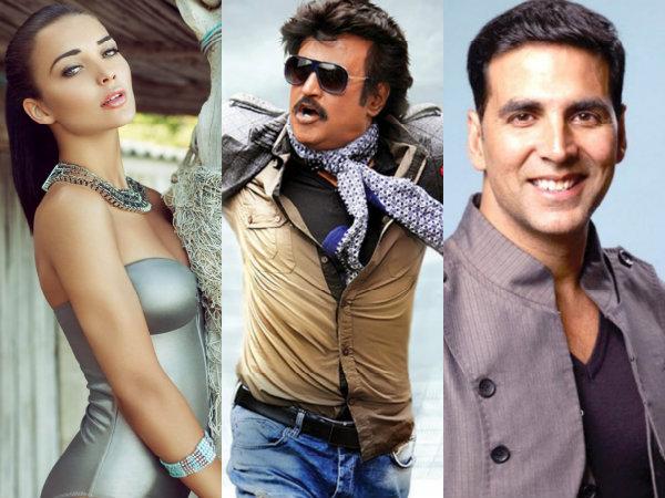 2.0: Amy Jackson is all praise for Rajinikanth and Akshay