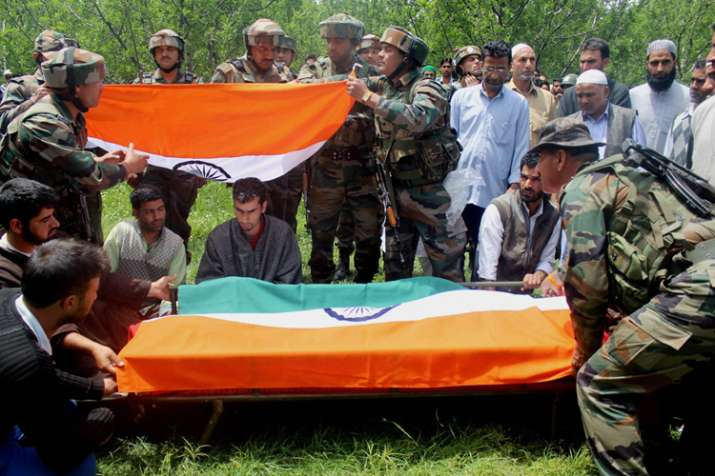 Army vows to punish killers of young Kashmiri Lieutenant