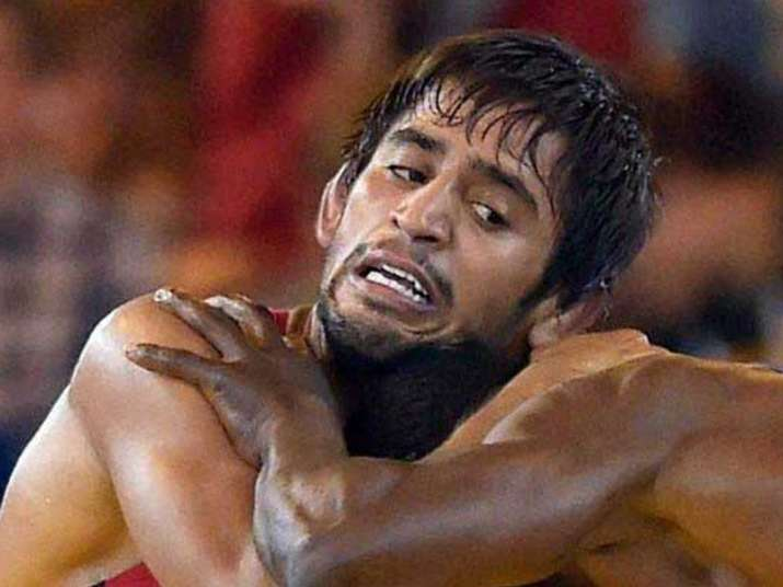 Bajrang Punia wins gold at Asian Wrestling Championship