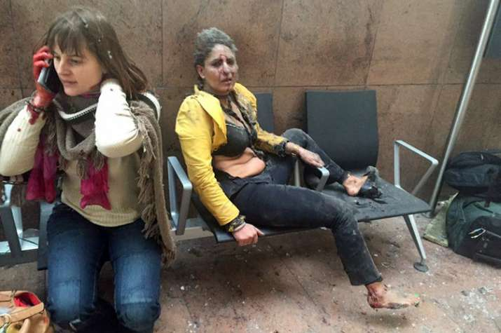 India Tv - 35 were killed and 340 people were wounded in Brussels attacks