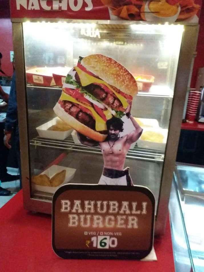 India Tv - baahubali inspired burger