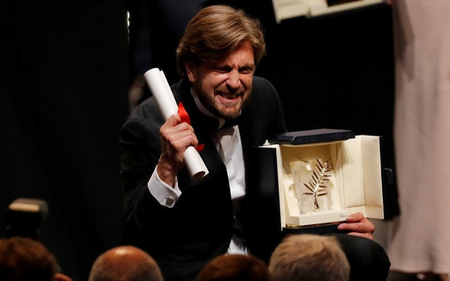 Swedish satire The Square wins Palme d'Or top prize at