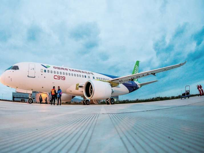 China's first passenger Jetliner C919