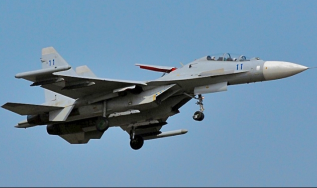 Chinese Su-30 fighter jets intercept US Air Force jet over East