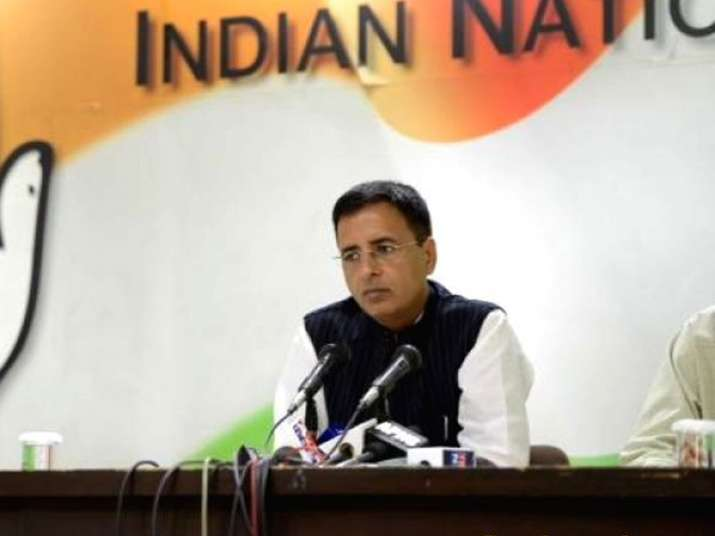 File pic - Congress leader Randeep Singh Surjewala