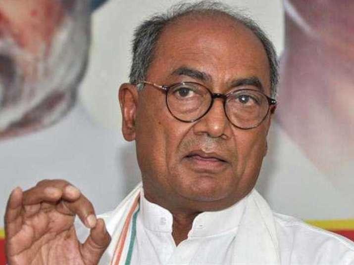 File pic of Congress leader Digvijaya Singh