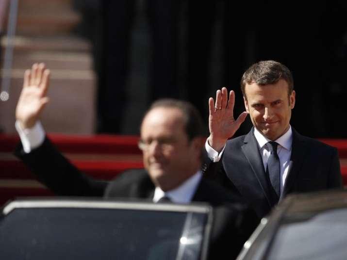 France's new President Emmanuel Macron
