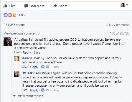 India Tv - Woman writes brutally honest post about depression on Facebook and goes viral