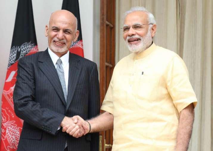 File pic - PM Narendra Modi and Afghan President Ashraf