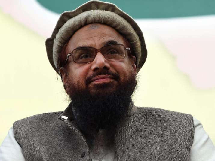 File pic of Pakistani terrorist Hafiz Saeed