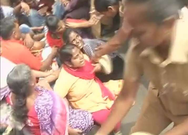 IIT-Madras students protest attack on PhD scholar over beef