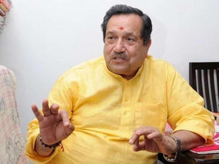 File pic of RSS pracharak Indresh Kumar