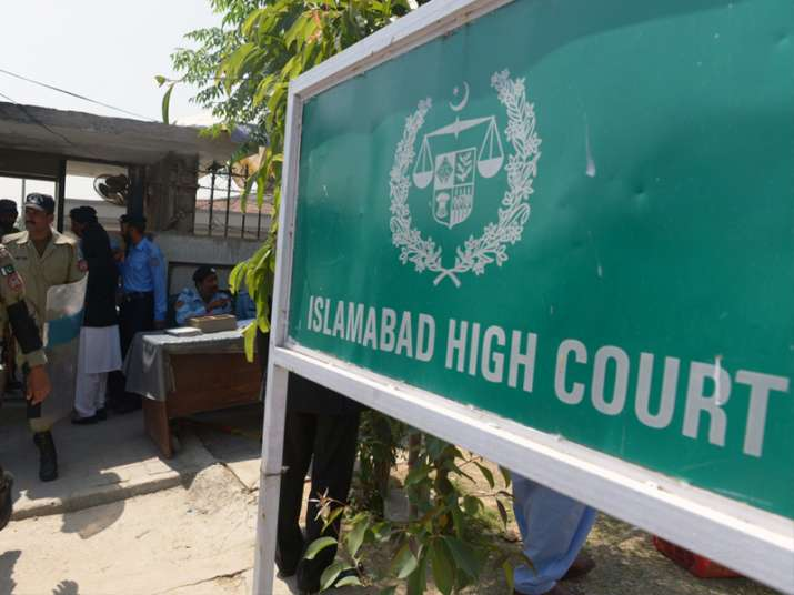 File pic - An outside view of Islamabad HC