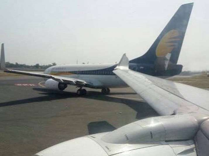 Two Jet Airways aircraft collide at IGI, grounded