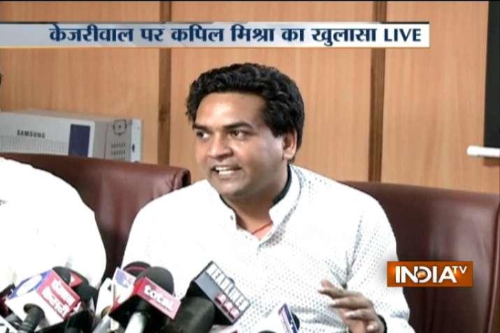 In big charge, Kapil Mishra says Kejriwal linked to Hawala