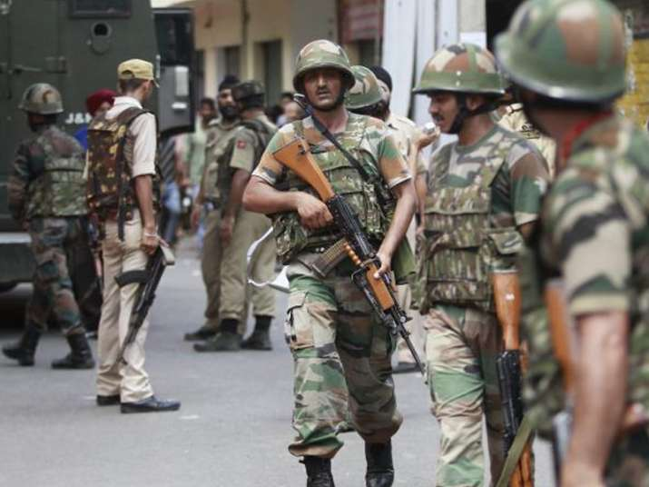 File pic - Security forces kill two LeT terrorists in